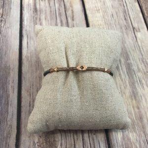 Stella & Dot Rose Gold Cuff Bracelet